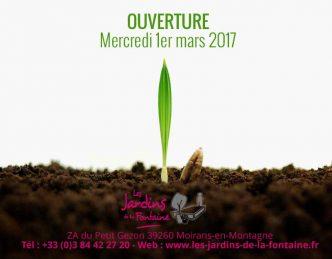 jardinerie paysagiste sur Moirans en Montagne (Jura), Oyonnax (Ain)